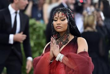 Nicki Minaj Shows Off Carnival Fit With Goofy Dance