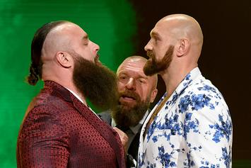 Tyson Fury Challenged To WWE Intercontinental Title Match