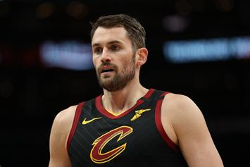 Kevin Love Helps Out Arena Workers With Massive Donation
