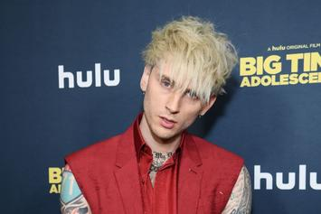 """Machine Gun Kelly Explains Person He """"Kissed"""" In Video Was A Blunt"""