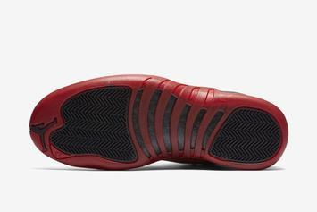 "Air Jordan 12 ""Reverse Flu Game"" Rumored Release Date Revealed"