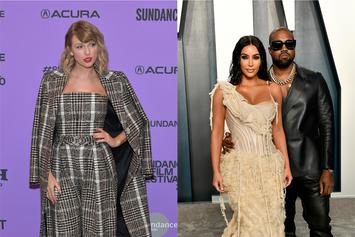Kim K's Comments Flooded By Taylor Swift Fans After Kanye Call Leaks