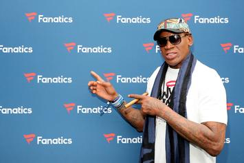 Dennis Rodman Triggers Stephen A. Smith With Cowboys Jersey