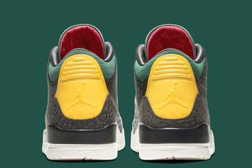 "Air Jordan 3 ""Animal Instinct 2.0"" Officially Unveiled: Photos"