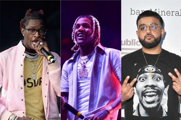 """Young Thug, Lil Durk, & Nav Lead The Way On This Week's """"Fire Emoji"""" Playlist"""