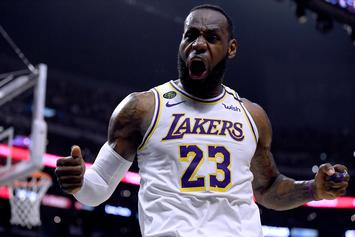 LeBron James & Lakers Teammates Hosting Private Workouts