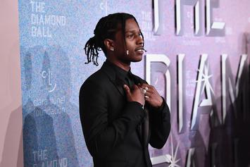 A$AP Rocky Speaks Out After Marching In George Floyd Protest