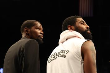 KD & Kyrie Irving's Injury Status Updated Ahead Of NBA Return