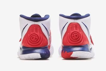 "Nike Kyrie 6 ""USA"" Release Date Revealed: Photos"