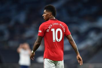 Manchester United Forward Marcus Rashford Signs With Jay Z's Roc Nation Sports