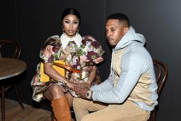 Nicki Minaj Shows Off Baby Bump For The First Time Since Pregnancy Reveal