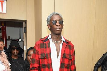 "Young Thug Shares Studio Picture With His Dog: ""I Love U Mama"""
