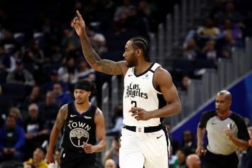 Kawhi Leonard Comments On The Risk Posed By COVID-19