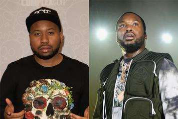 DJ Akademiks Challenges Meek Mill, Claims Roc Nation Is Pushing Back His Music
