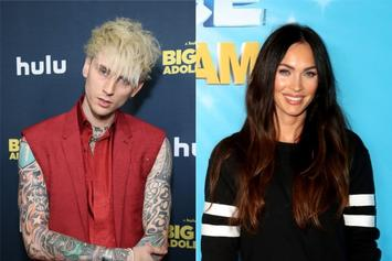 "Machine Gun Kelly & Megan Fox Share Sexy Towel Picture: ""My Heart Is Yours"""