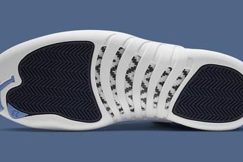 "Air Jordan 12 ""Stone Blue"" Officially Unveiled: Photos"