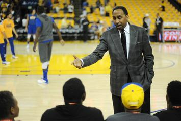 Stephen A. Smith Refuses To Give A Clear NBA Finals Pick