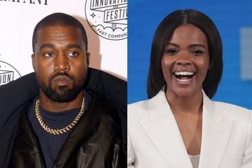 Kanye West Catches Heat For Thanking Candace Owens & Posting Her Book Cover