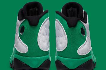 "Air Jordan 13 ""Lucky Green"" Officially Unveiled: Photos"