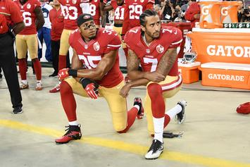 Colin Kaepernick Calls Out NFL For Blackballing Eric Reid