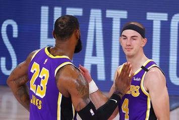 Alex Caruso Speaks On Not Having Lakers Fans At The Games