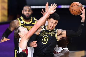 """Fans Start Petition To Stop """"F*ckboi"""" Kyle Kuzma From Getting A Ring If Lakers Win Finals"""