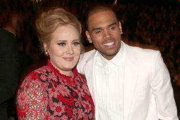Chris Brown Spotted Leaving Adele's Home In London: Report