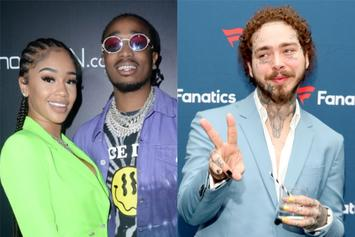 Saweetie Lowkey Annoyed By Quavo & Post Malone BBMA Meet-Up