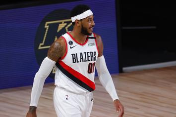 Blazers Avenge Carmelo Anthony With Shot At The Nuggets