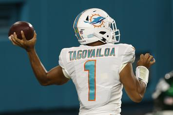 Tua Tagovailoa Makes NFL Debut During Dolphins' 24-0 Win Over Jets