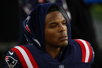 Cam Newton Benched During 3-Interception Performance