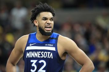 Karl-Anthony Towns Thanks His Fans After Difficult Year