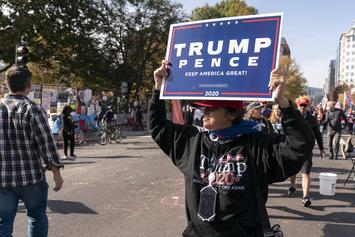 "Donald Trump's ""Million MAGA March"" Draws 5K People In DC"