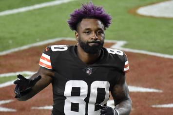 "Jarvis Landry Channels Travis Scott's ""Astroworld"" With New Cleats"