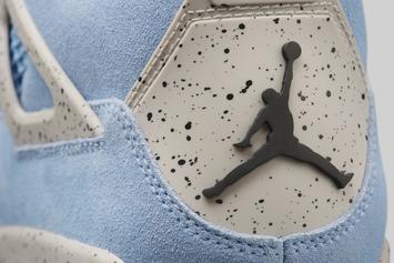 "Air Jordan 1 & AJ 4 ""UNC"" Colorways Officially Unveiled: Photos"
