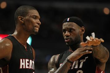 Chris Bosh Was Offended By LeBron James Text About Leaving Heat