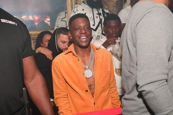 Boosie Gets Back To Work, Shows Off Heavily-Bandaged Leg
