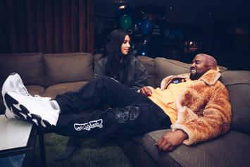 """Kanye West & Kim Kardashian Living """"Separate Lives"""" Within Marriage: Report"""