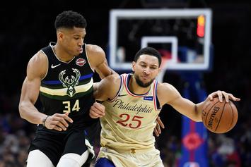 Ben Simmons Reacts To Giannis' Huge New Contract