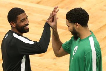 Kyrie Irving Explains Why He Burned Sage Prior To Nets Game