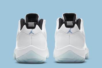 "Air Jordan 11 Low ""Legend Blue"" Officially Unveiled: Photos"