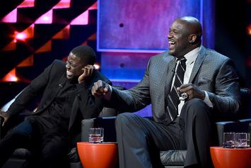 Kevin Hart Calls Out Shaq For Making His Son Cry
