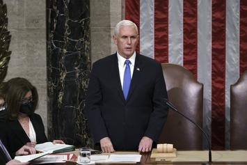 Mike Pence Has Not Ruled Out Invoking 25th Amendment Against Trump: Report