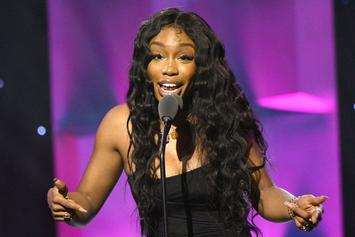 SZA Reacts With Glee After Cracking The Billboard Top 10