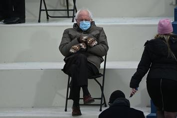 Bernie Sanders Wears Parka With Mittens To The Inauguration & The Memes Take Off