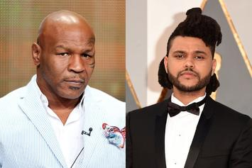 The Weeknd & Mike Tyson Connect At Super Bowl