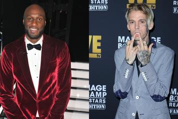 Lamar Odom & Aaron Carter Go Back And Forth Ahead Of Boxing Match