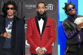 "Nipsey Hussle, Jay-Z & Kodak Black Dominate Our ""Fire Emoji"" Playlist"