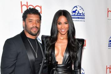 Russell Wilson Continues Spoiling Ciara For Valentine's Day