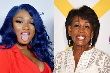 "Megan Thee Stallion Praised By Maxine Waters For Having ""Audacity"" On ""WAP"""